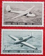 Luchtpost Poste Aérienne 1951 OBP PA/LP 18-PA19 (Mi 904-905) POSTFRIS/MNH ** BELGIE BELGIUM - Airmail