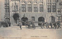 10297 Echelle Majerus 1me Escouade -   Edit Godderis Tanghe -  Pompiers - Bruges - Brugge - Brugge