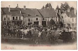 CPA 52 - FAYL-BILLOT (Haute Marne) - La Foire Aux Bestiaux - Ed. Raguet - DND - Fayl-Billot