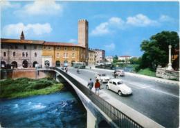 VICENZA  Ponte Degli Angeli  Auto VW Kafer - Vicenza