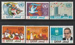 QATAR - N°367/72 ** (1968) - Qatar