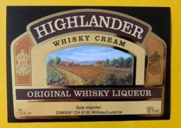 11456 - Highlander Whisky Cream - Whisky