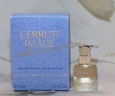 CERRUTI : Image. Eau De Toilette 5 Ml. Version 1998. Parfait état - Modern Miniaturen (vanaf 1961)