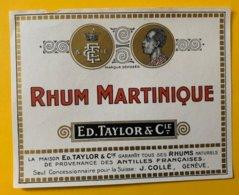 11458 - Rhum Martinique Ed.Taylor - Rhum