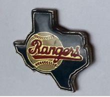 A203 Pin's USA Football Américain Baseball RANGERS  Achat Immédiat - Honkbal