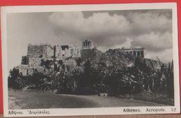 Atene. Acropoli. Non Viaggiata, Originale - Greece