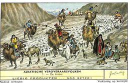 6 Chromos - Liebig - Aziatische Veroveraarsvolken - S 1734 - Liebig