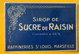11460 - Sirop De Sucre De Raisin Raffineries St Louis Marseille - Andere
