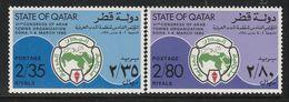 QATAR - N°784/5 ** (1980) - Qatar
