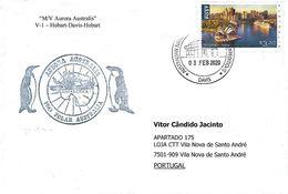 "Australian Antarctic Territory (AAT) - ""M/V Aurora Australis"" (V-1 - Hobart - Davis - Hobart) - Lettres & Documents"