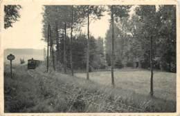 Belgique - Grez-Doiceau - Le Tram à La Clairière Manet - Panneau De Signalisation. - Grez-Doiceau
