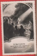 Lourdes. Bernadette. Peinture Murale. Non Viaggiata, Originale - Heiligen