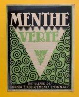 11462 - Menthe Verte Distillerie Des Grands Etablissements Lyonnais - Andere