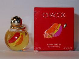 CHACOK :  Eau De Parfum 7 Ml. Version 2001. Parfait état - Modern Miniaturen (vanaf 1961)