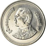 Monnaie, Thaïlande, Rama IX, 2 Baht, 2005, SPL+, Nickel Plated Steel, KM:444 - Thailand