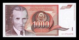 Yugoslavia 1000 Dinara 1990 Pick 107 SC UNC - Yugoslavia