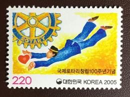 South Korea 2005 Rotary MNH - Corea Del Sud