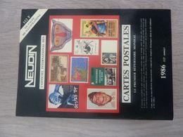 REPERTOIRE MONDIAL  CPA NEUDIN 1986 - France