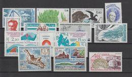 TAAF Année Complète 1988 130-137,139A Et PA 100-102 ** MNH - Años Completos