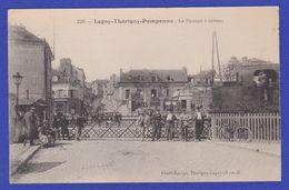 CPA 77 LAGNY THORIGNY POMPONNE Le Passage à Niveau - Lagny Sur Marne