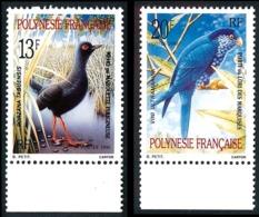 POLYNESIE 1990 - Yv. 360 Et 361 ** TB Bdf  - Oiseaux Marouette Et Lori (2 Val.) ..Réf.POL21963 - French Polynesia