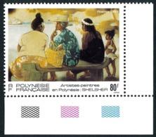 POLYNESIE 1993 - Yv. 447 ** SUP Cdf Repères De Couleur Tableau De Shelcher  ..Réf.POL25093 - French Polynesia