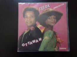 "45 T , Ottawan "" T'es OK + Comme Aux USA "" - Disco & Pop"