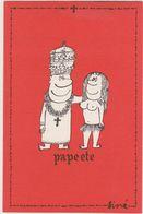 SINE  Ed Pulcinella  - Série Pape Pape Ete  Papeete - CPSM  10.5x15 TBE Neuve - Sine