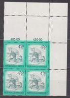 1976 , Mi 1519 ** (2) -  4er Block Postfrisch - Freimarke : Schönes Österreich - Windmühle Aus Retz / Niederösterreich - 1945-.... 2. Republik
