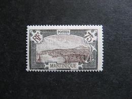 MARTINIQUE: TB N° 74,  Neuf XX. - Unused Stamps