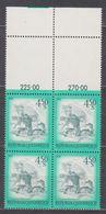 1976 , Mi 1519 ** (4) -  4er Block Postfrisch - Freimarke : Schönes Österreich - Windmühle Aus Retz / Niederösterreich - 1945-.... 2. Republik