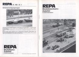 Catalogue REPA 1998 Modelleisenbahn - Zubehör Altebeken Spur N HO O I - Duits