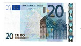 Signature DUISENBERG - ESPAGNE - 20 Euro
