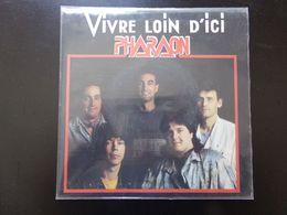 "45 T , Pharaon "" Vivre Loin D'ici + Instrumental "" - Rock"