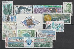 TAAF Année Complète 1999 Sauf Carnet Voyage 235-247 Et 260-63 ** MNH - Años Completos