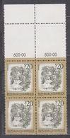 1977 , Mi 1565 ** (3) -  4er Block Postfrisch - Freimarke : Schönes Österreich - Myrafälle Bei Muggendorf / Niederösterr - 1945-.... 2. Republik