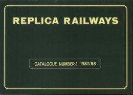Catalogue REPLICA RAILWAYS N.1 1987/88 OO Gauge - Engels