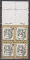 1977 , Mi 1565 ** (5) -  4er Block Postfrisch - Freimarke : Schönes Österreich - Myrafälle Bei Muggendorf / Niederösterr - 1945-.... 2. Republik