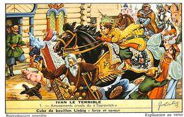 6 Chromos - Liebig - Ivan Le Térrible - S 1646 - Liebig