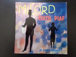 """45 T , Edith Piaf """" Milord + Je Sais Comment """" - Vinyl Records"""