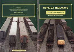 Catalogue REPLICA RAILWAYS N.2 OO Gauge 1990 + Price GBP - Engels