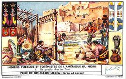 6 Chromos - Liebig - Indiens Pueblos Et Totémistes De L'Amérique Du Nord - S 1642 - Liebig