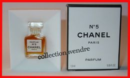 "CHANEL :  Parfum 1.5 Ml. ""épaules Tombantes"". Parfait état - Modern Miniaturen (vanaf 1961)"