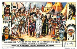 6 Chromos - Liebig - Indiens Des Plaines Et Des Bois De L'Amérique Du Nord - S 1641 - Liebig