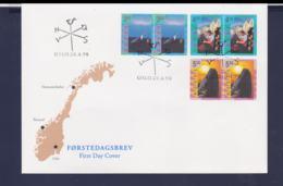 Norway FDC 1998 Tourism (G104-44) - Autres