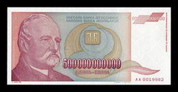 Yugoslavia 500000000000 Dinara 1993 Pick 137 SC- AUNC - Yugoslavia