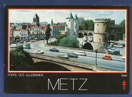 57. Metz.  La Porte Des Allemands. 1987 - Metz
