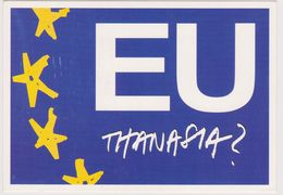 8ème Triennale Affiche Politique Mons Belgique - Europe Euthanasie - Jiri Svetlik Tchéquie - CPM 10.5x15 TBE 2001 Neuve - Events