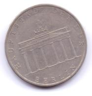 DDR 1971 A: 5 Mark, Berlin, KM 29 - [ 6] 1949-1990 : GDR - German Dem. Rep.