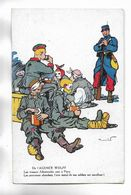 Militaria - Carte Humoristique ( Voir Le Texte ) - Carte Offerte Par Les Biscuits OLIBET ( Voir Le Verso ) - Humorísticas